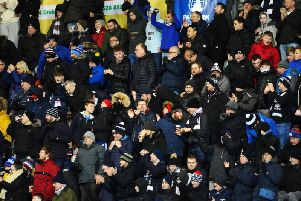 Here's what the Falkirk fans had to say... Picture: Michael Gillen
