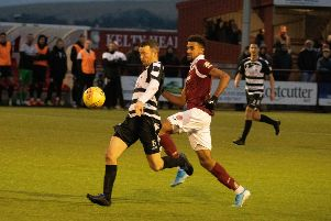 Eddie Malone and Nathan Austin. Picture: Kevin Marshall