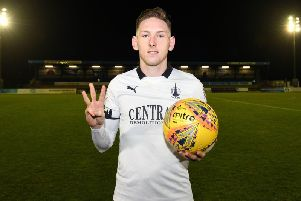 Declan McManus  has scored 18 goals in 26 appearances for the Bairns this season