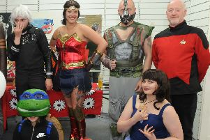 Comic cons are growing in popularity.