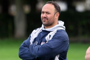 Kirkcaldy head coach Quintan Sanft. Photo by Michael Booth