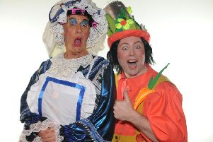 Billy Mack and Alan Orr star in the 2018 pantomime Sleeping Beauty at the Alhambra Theatre in Dunfermline.