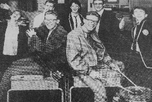 Kirkcaldy 1988: The Proclaimers visit Kirkcaldy High School