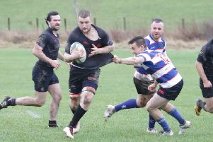 Howe struggled to get to grips with their league leading hosts. Pic by Nigel Pacey.