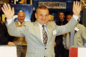 Fife Flyers - Graeme Farrell; at the club's Diamond Jubilee anniversary in 1998