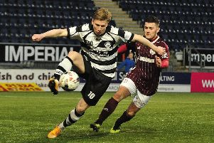 East Stirlingshire 3 Kelty Hearts 3. Picture Alan Murray