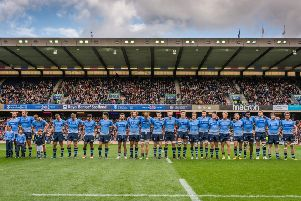 The University of St Andrews rugby side.