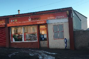 The shop Sidlaw Street was robbed. Picture: JP