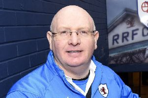 Raith Rovers manager John McGlynn.