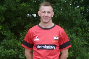 Glenrothes rugby player Shaun Gray