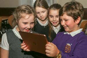 Pupils at schools across the Kingdom took part in two closely fought competitions; the first of which offered the opportunity to become the voiceover for the app's lively Jester, a character which will narrate the trail through the Heartlands.