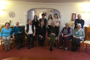 Volunteer Midlothian's  Transform-Be Active project  for Sheltered Housing residents in Dalkeith