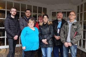 Members of the ASD Fife Community Hub who are planning on opening an autism friendly cafe in the former Pancake Place.
