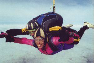 Renia loved skydiving