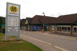 The alleged assault took place near Morrisons store