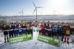 Launch of the Scottish Power Energy Networks Warriors Championship. Picture: Gary Hutchison.
