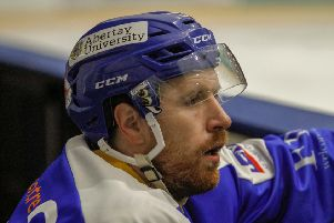 Fife Flyers forward Bari McKenzie. Pic: Jillian McFarlane