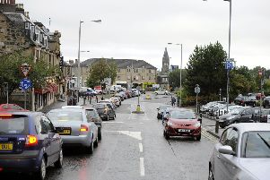 The attack took place in Grahams Road, Falkirk
