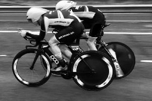 Michael Curran and Scott Maclean in Power Mode (Photo courtesy of Ian Anderson)