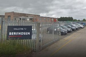 Laundry firm Elis, based in Randolph Industrial Estate, Kirkcaldy. It was formerly known as Berendsen. Pic: Google.