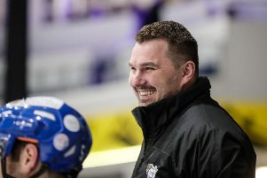 Jeff Hutchins, Fife Flyers assistant coach. Pic: Scott Wiggins
