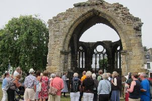 Guided walk...in St Andrews disclosed a wealth of pilgrimage heritage which people can discover on the Fife Pilgrim Way, a 64 mile route from Culross and North Queensferry to St Andrews which will open in summer 2019.