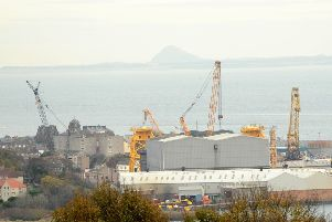 Unions say workers in Burntisland may think the future is rigged against them. Picture: Fife Photo Agency