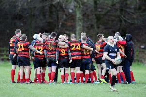 Grangemouth Stags. Picture Michael Gillen.