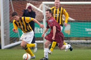 Stewart Murdoch during his previous spell at East Fife.