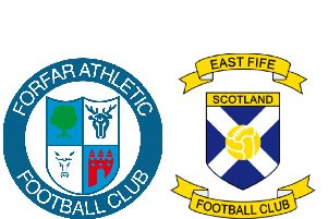 Forfar raced into a three goal lead by the break they never looked like giving up.