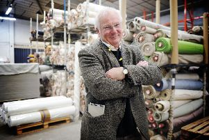 Angus Nicoll, managing director, has been working at Peter Greig & Co Ltd for 35 years. Pic: George McLuskie.