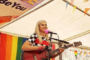 Romay has performed at events including Fife Pride.