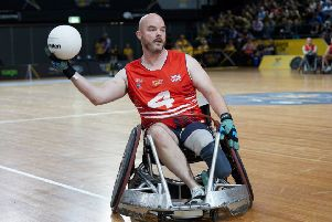 Michael Mellon, from Cardenden,  who took part in the Invictus Games 2017 and 2018