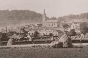 An old map of Markinch has been reproduced