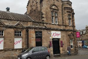 The incident happened outside Kitty's nightclub in Kirkcaldy.