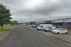 The incident took place on Newark Road South, Glenrothes. Picture: Google