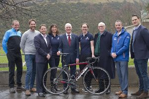 Official launch...the much-anticipated Women's Tour of Scotland route was revealed at the inaugural event's official launch in Edinburgh.