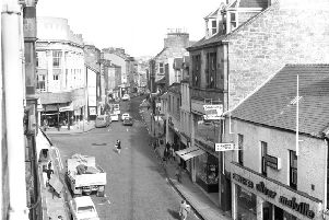 Looking from the West end along the portion which is now pedestrianised.
