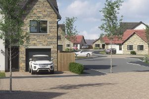 An artist's impression of the new development.
