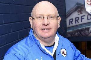 Raith Rovers manager John McGlynn -  credit- Fife Photo Agency