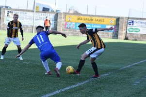 East Fife went down 2-0 to Mo.
