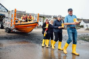 Kinghorn RNLI coastal challenge to walk 15 miles on Fife Coastal Path (Pic: Kirsty McLachlan)