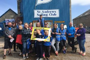 St Andrews Sailing Club are one of the organisations taking part in the taster days.