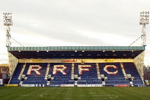 Stark's Park - home of Raith Rovers FC