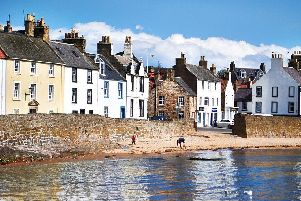 Anstruther beach