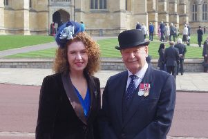 Douglas and Faye at Windsor Castle