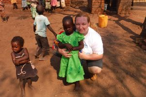 Kerry Marshall from Kirkcaldy has previously travelled to India to help build homes for vulnerable women.