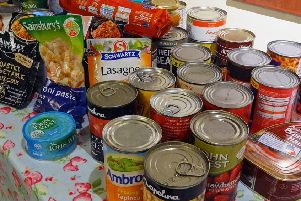 The Glenrothes Foodbank provided more than 1,600 three-day emergency food parcels.