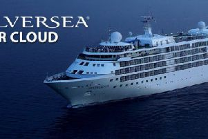 The Silver Cloud is due to call in at Berwick later this month.