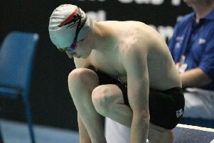 Cupar and District swimmer Oliver Carter